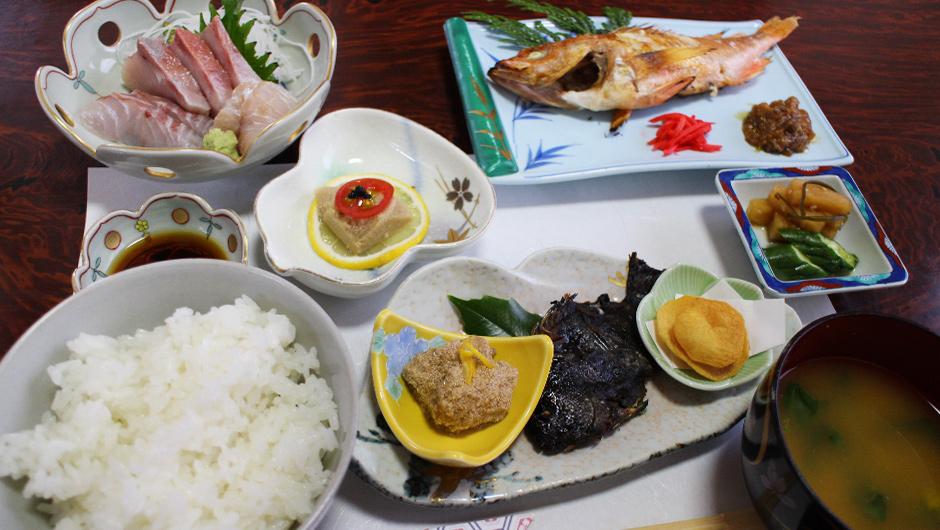 お魚定食 1,500円