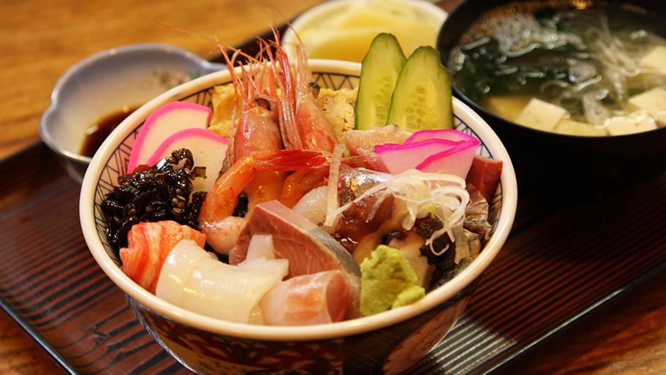 海鮮丼 1,160円
