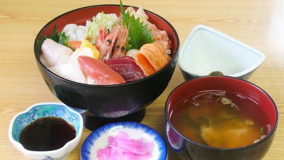 レストラン:海鮮丼(上) 1,600円