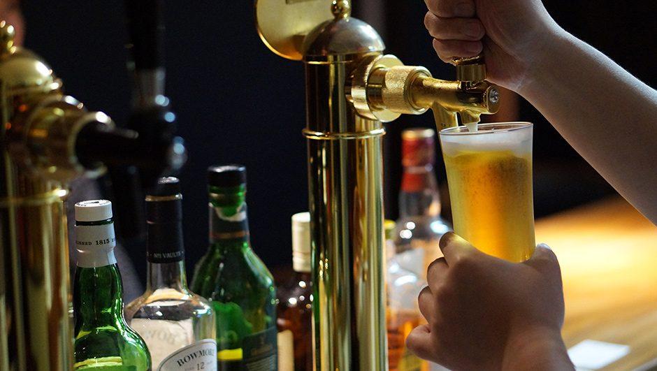 サッポロ黒ラベルの生ビール