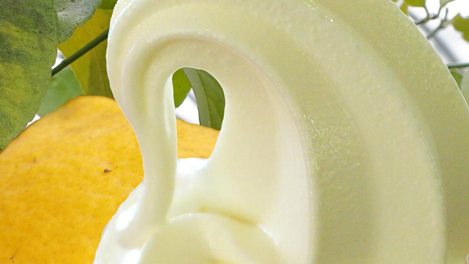 レモンソフトクリーム 400円